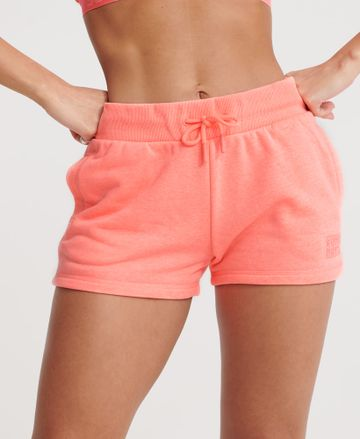 Superdry | Peach Solid Activewear Shorts