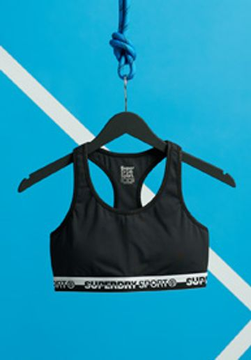 Superdry | Black TRAINING ESSENTIAL BRA