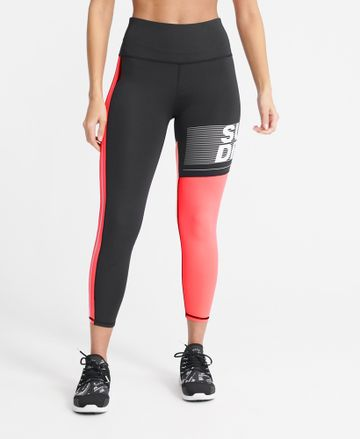 Superdry | TRAINING GRAPHIC 7/8 LEGGINGS