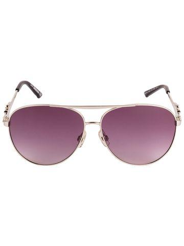 swarovski | SWAROVSKI Retro Square Sunglass with Purple  Lens for Women