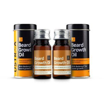 Ustraa   Ustraa Beard Growth Oil 35 ml (Set of 2)