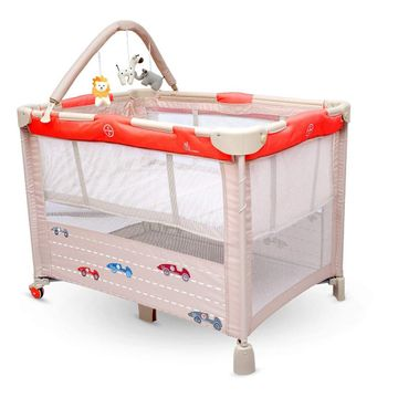 Mothercare | R For Rabbit Hide And Seek Baby Travel Cot Red Beige