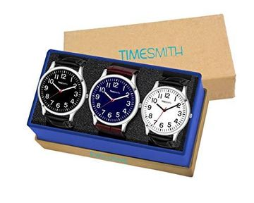 Timesmith | Timesmith Formal Combo Gift Set of 3 Analog Watches For Men and Boys CTC-001-002-003 For Men