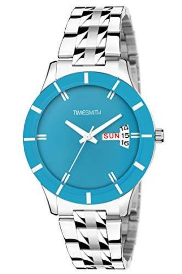 Timesmith | Timesmith Blue Steel Day Date Watch for Women TSC-114 For Women