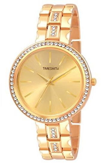 Timesmith | Timesmith Gold Steel Watch for Women TSC-115 For Women
