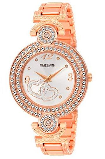 Timesmith | Timesmith Rose Gold Steel Watch for Women TSC-123 For Women
