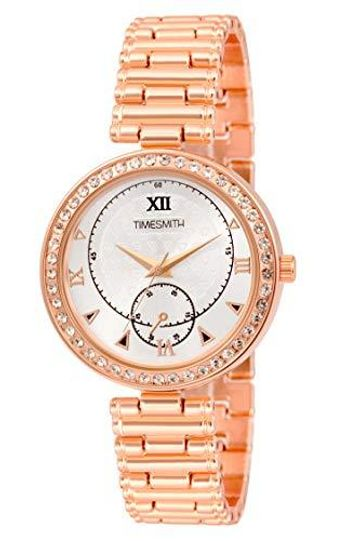 Timesmith | Timesmith Rose Gold Steel Watch for Women TSC-125 For Women
