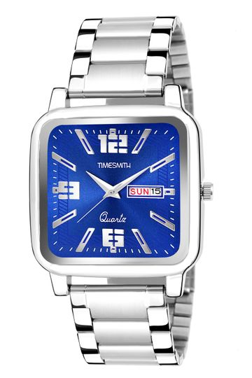 Timesmith | Timesmith Blue Dial Stainless Steel Men's Watch TSC-142 For Men