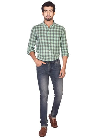 Turtle | Blue Relaxed Wash Fashion Denim