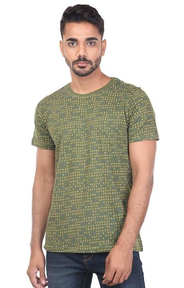 Turtle | Green CREW KNITTED T - Shirt