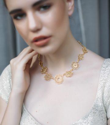 ZARIIN   Fleeting Love Necklace