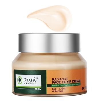 Organic Harvest | Organic Harvest Active Range Radiance Face Elixir Cream, 50gm