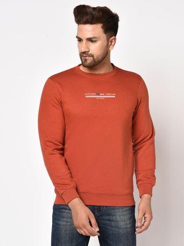 OCTAVE | Men RUST Sweatshirts