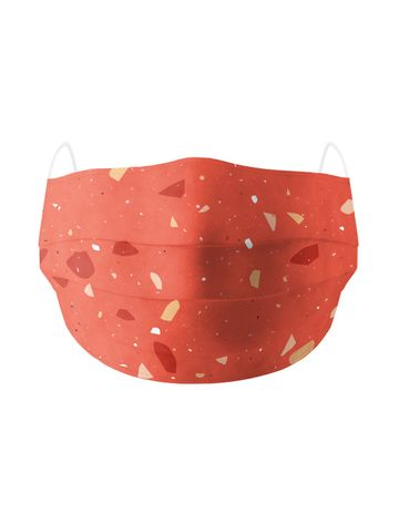 Soxytoes | Soxytoes Red Stylish Protective Washable Mouth Cover Face Mask