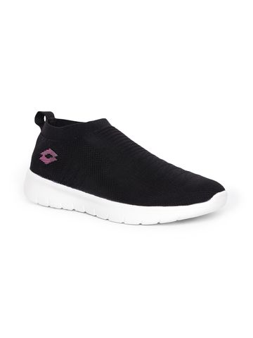 Lotto | Lotto Women's Vittorio W Black/Pink Slip On Shoes
