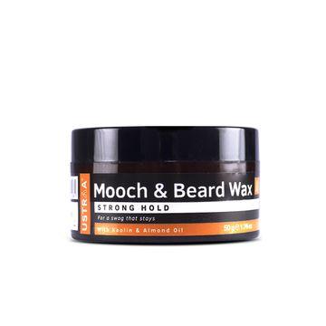 Ustraa | Ustraa Beard & Mooch Wax - Strong Hold - 50g