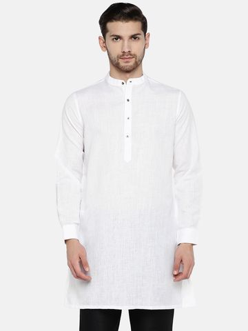 Ethnicity | White Cotton kurta