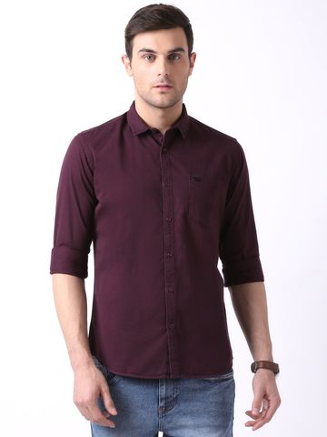 The Bear House | TBH Overdyed Casual Shirt with Metal Bear