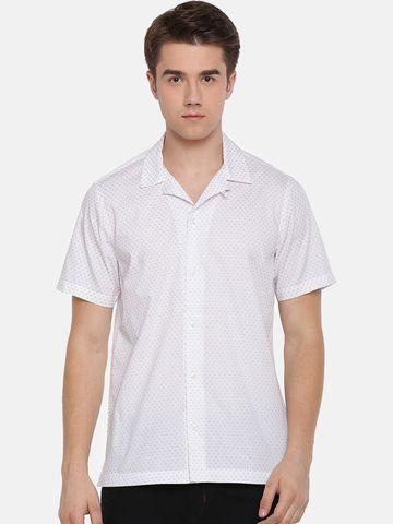 The Bear House | White casual shirt