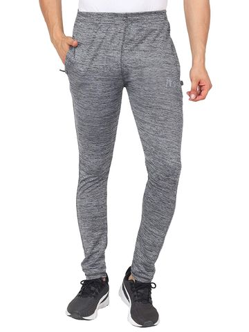 Picstar | PICSTAR Solid Men Grey Track Pants