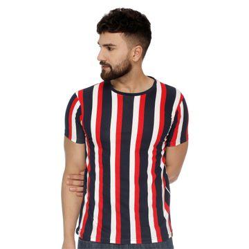 VEIRDO | Veirdo Cotton Striped T-shirt for men