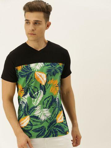 VEIRDO | Veirdo Color-block T-shirt For Men