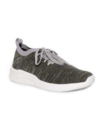 Lotto   Lotto Men's Zabi Grey Olive Running Shoes