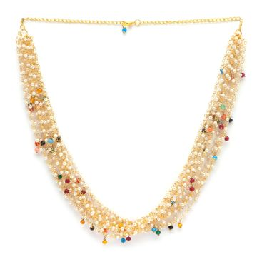 globus | Globus Gold Ethnic Necklace