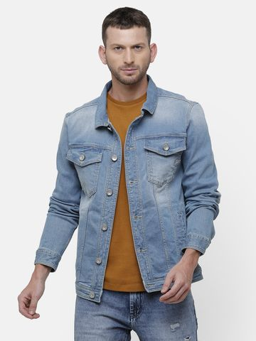 Voi Jeans   Blue Denim Jackets (VOJK0150)