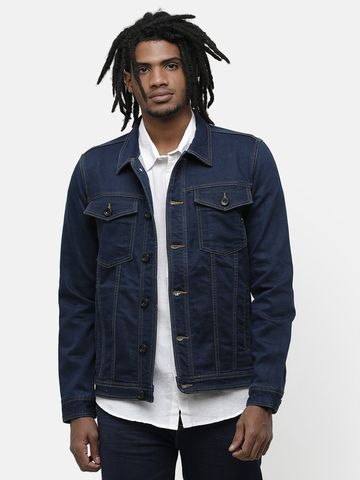 Voi Jeans   Blue Denim Jackets (VOJK0151)