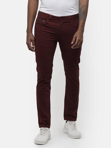 Voi Jeans | Burgandy Chinos