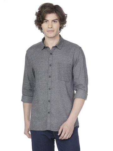 Voi Jeans | Grey Casual Shirts (VOSH1133)