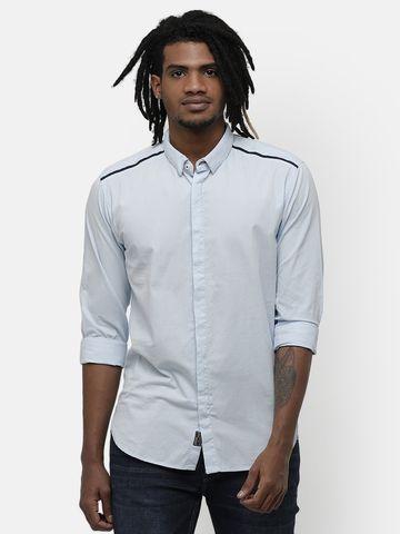 Voi Jeans | Blue Casual Shirts (VOSH1201)