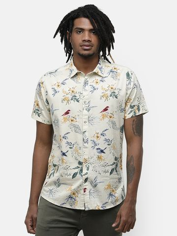 Voi Jeans | Yellow Casual Shirts (VOSH1310)