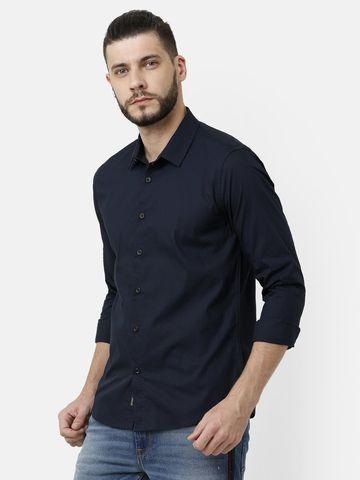 Voi Jeans   Blue Casual Shirts (VOSH1347)