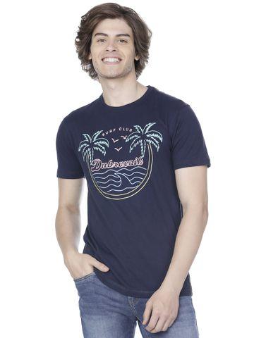 Voi Jeans   Blue T-Shirts (VOTS1295)