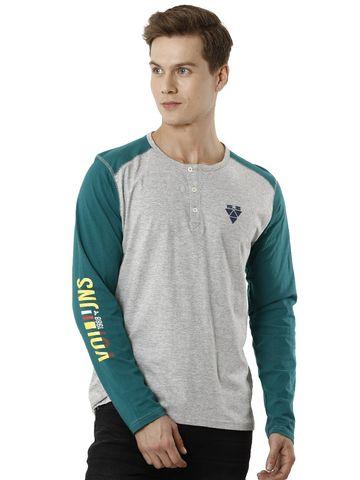 Voi Jeans | Grey T-Shirts (VOTS1434)