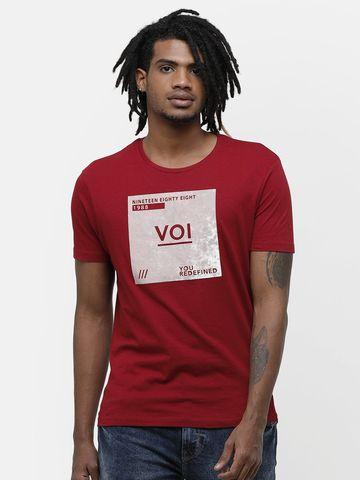 Voi Jeans | Pink T-Shirts (VOTS1467)