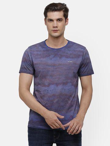 Voi Jeans | Purple, Blue T-shirt (VOTS1601 )