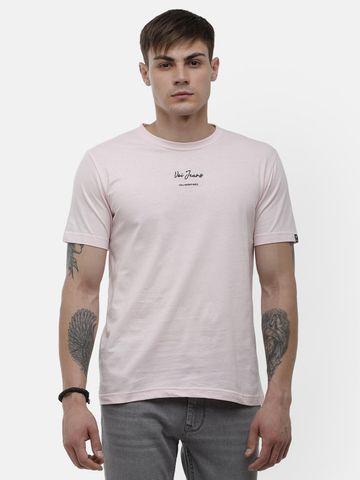 Voi Jeans | Light Pink T-Shirt ( VOTSL002)