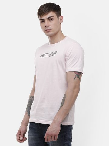 Voi Jeans | Light Pink T-Shirt ( VOTSL011)