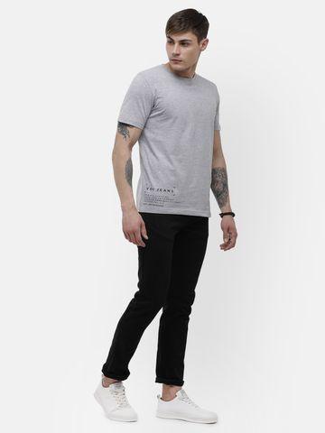 Voi Jeans |  Gray T-Shirt ( VOTSL012)