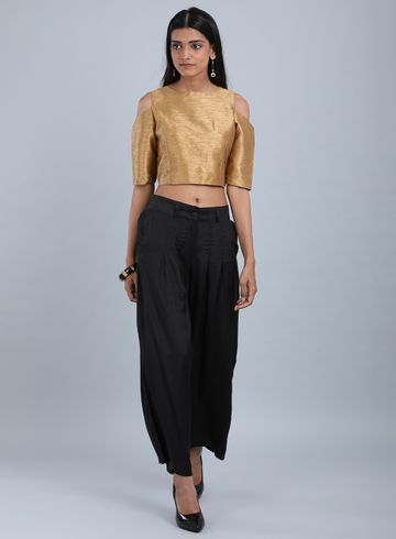 W | Wishful by W-Women Black Color Pants