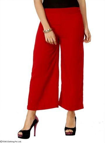 W | Wishful by W-Women Red Color Pants