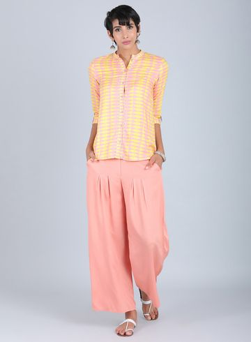W | W Women Yellow Color Top