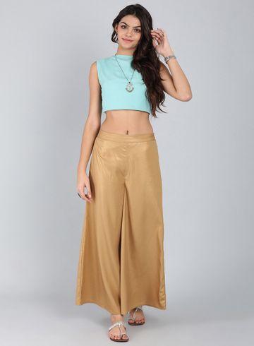W | Wishful by W-Women Gold Color Pants