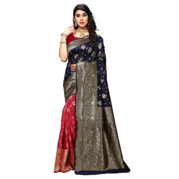 POONAM TEXTILE | Designer Women's Art Silk Woven Saree