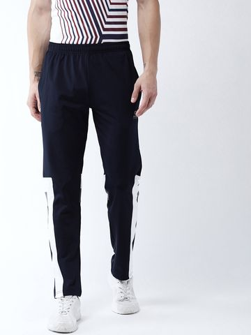 Masch Sports | Masch Sports Men's Quick Dry, Sweat Resistant, Sweatproof, Moisture Wicking, Breathable Polye Ster Regular Navy Blue, White and Grey Sports/Running wear/Active Wear/Track Pant