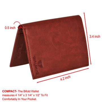 Walrus | Walrus Color Red Vegan Leather Card Holder.