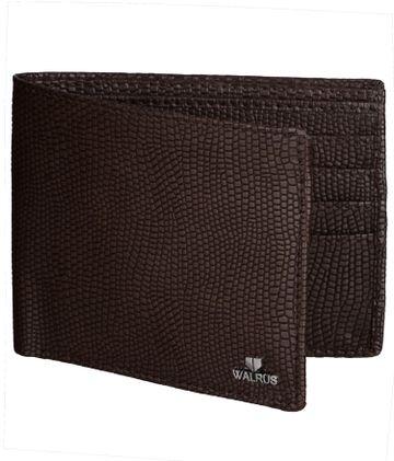Walrus | Walrus Adolp Brown Vegan Leather Men Wallet.